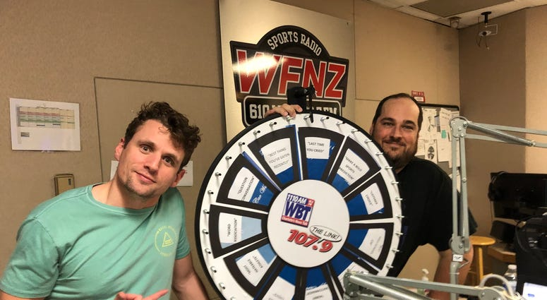 Wilson And Parcell: Topic Wheel | WFNZ | 102.5 FM 610 AM | The Fan |  Charlotte's Sports Leader