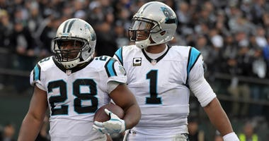 Cam Newton And Jonathan Stewart
