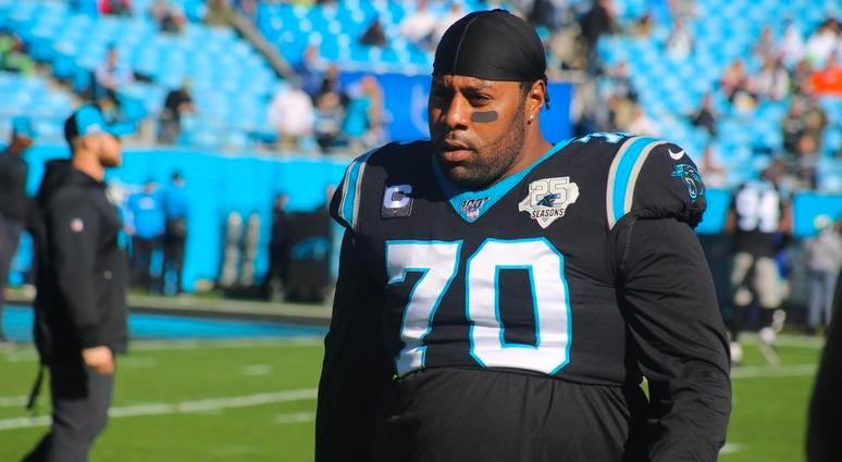 Panthers right guard Trai Turner