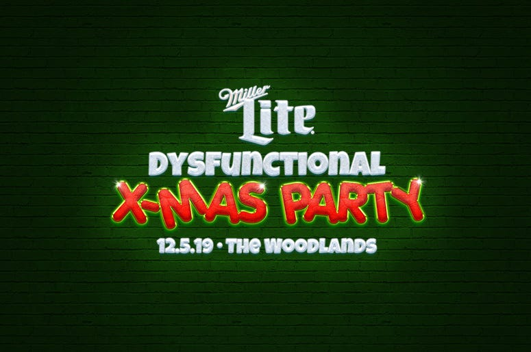 Miller Lite Dysfunctional X-Mas Party!