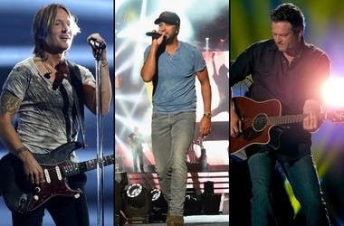 Keith Urban x Luke Bryan x Blake Shelton