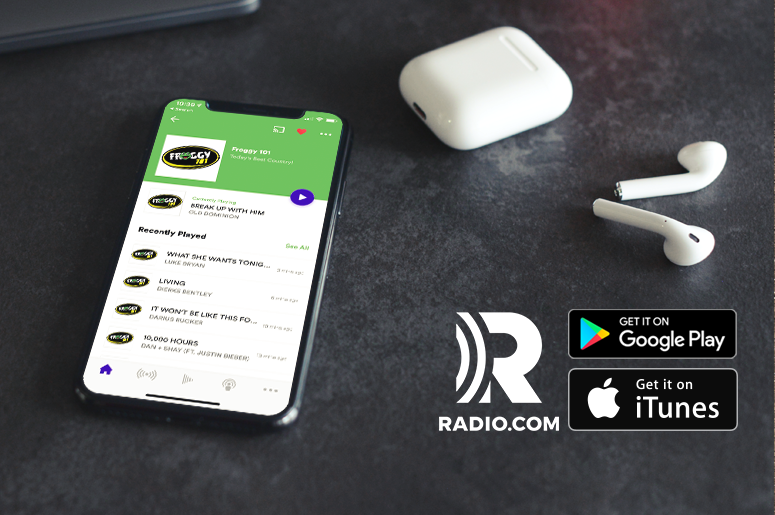 Froggy 101 Radio.com app