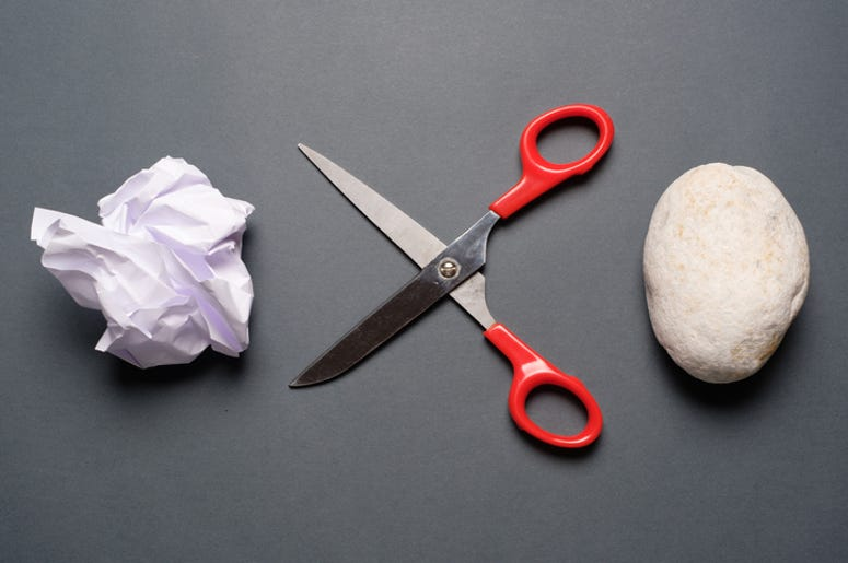 DOC SHOW AUDIO: How Tough is Rock, Paper, Scissors?