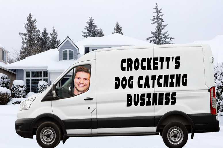 Crockett rescues stray dogs now!