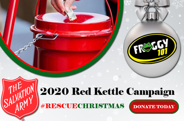 Rescue Christmas Salvation Army WGGY