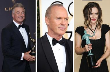 Alec Baldwin, Michael Keaton, Winona Ryder