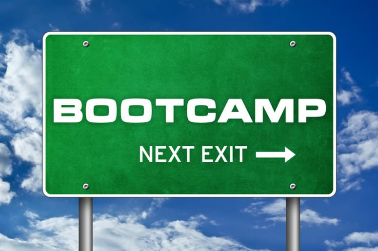 DOC SHOW AUDIO: Heading to Boot Camp