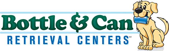 bottle can center logo