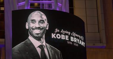Kobe Bryant memorial