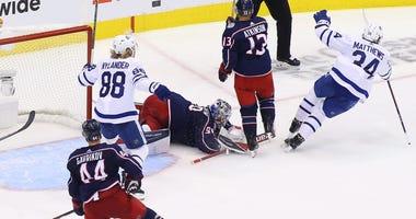 Blue Jackets-Maple Leafs