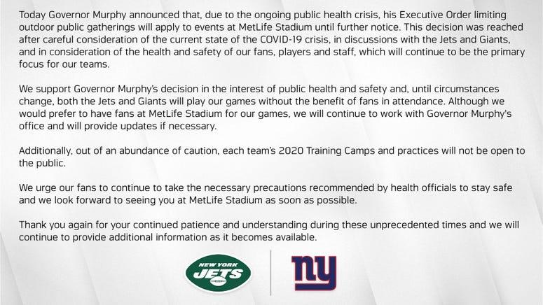 Jets/Giants