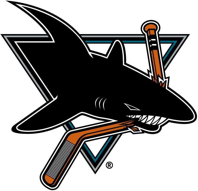 San Jose Sharks retro logo