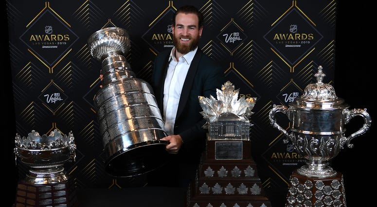 Current and former Sabres honored at 2019 NHL Awards | WGR 550 ...