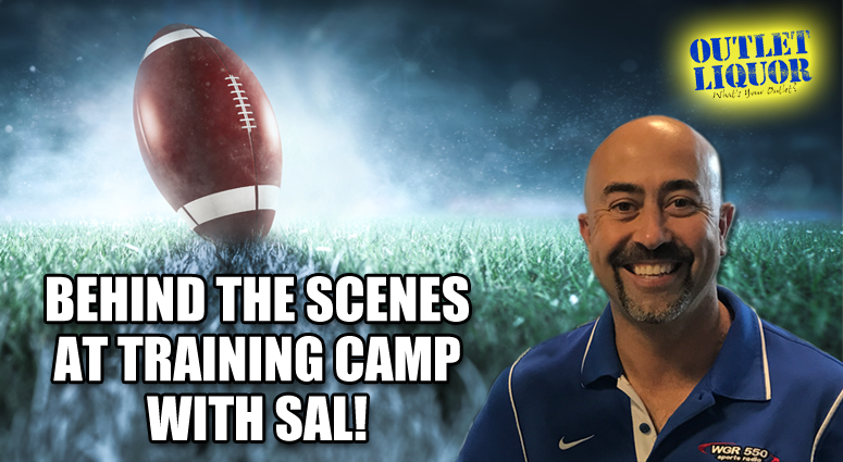 Behind the Scenes at Training Camp with Sal 2020
