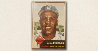 Jackie Robinson 1953 card