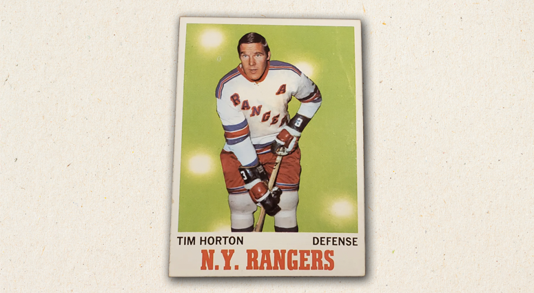 Card of the Day - Tim Horton