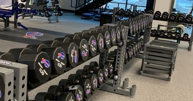 Bills weight room