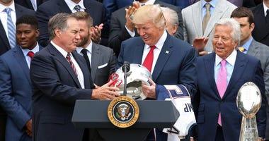 Bill Belichick and Donald Trump