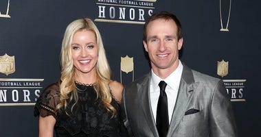 Brittany and Drew Brees