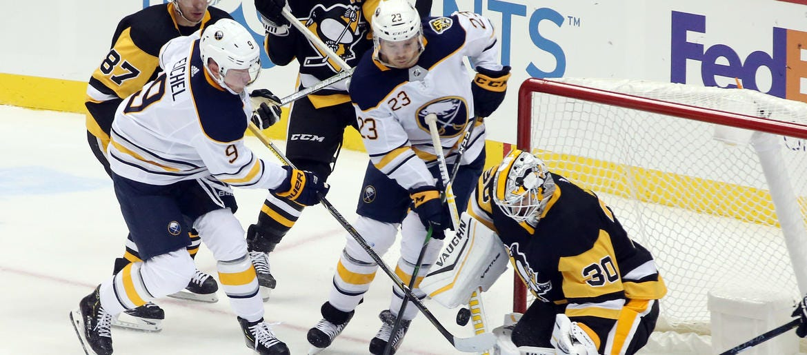 Gameday: Sabres in Pittsburgh for a clash with the Penguins