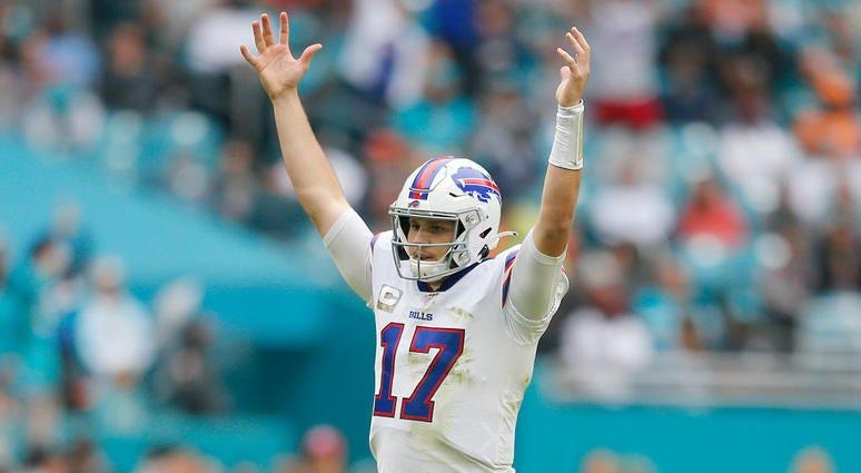 Arrow Up/Arrow Down - Bills at Dolphins