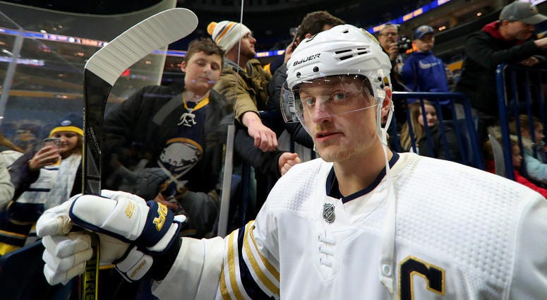 Eichel named as NHL's 'Third Star' of the week