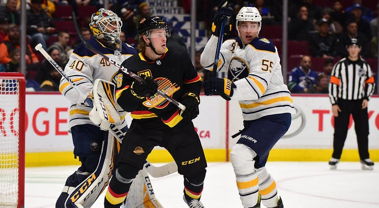 Gameday: Sabres stay close, trail Vancouver 5-4 in the third period
