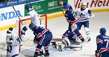 Amerks fall to Marlies in Game 1 of North Division semifinal