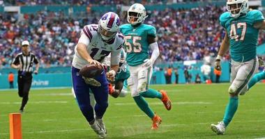Bills cruise in Miami