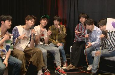 BTS Backstage at Billboard Music Award