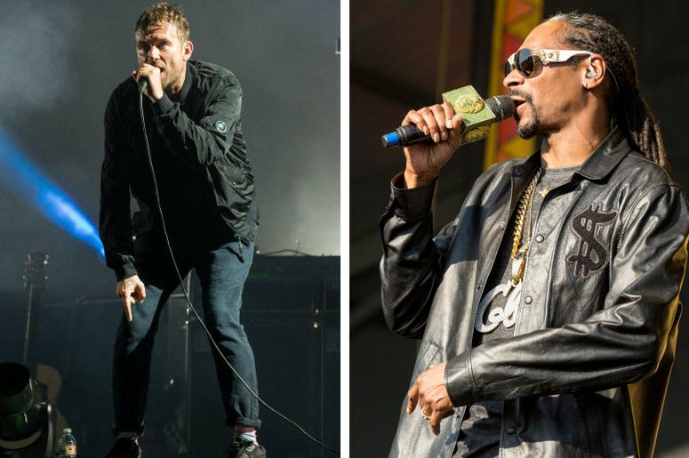 Gorillaz and Snoop Dogg