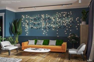 Stranger Things, Joyce Byers' Living Room