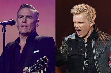 Billy Idol and Bryan Adams will co-headline in a limited U.S. tour.