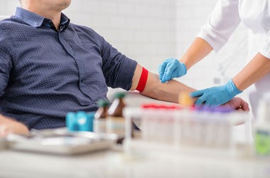 The American Red Cross is calling for blood donations.