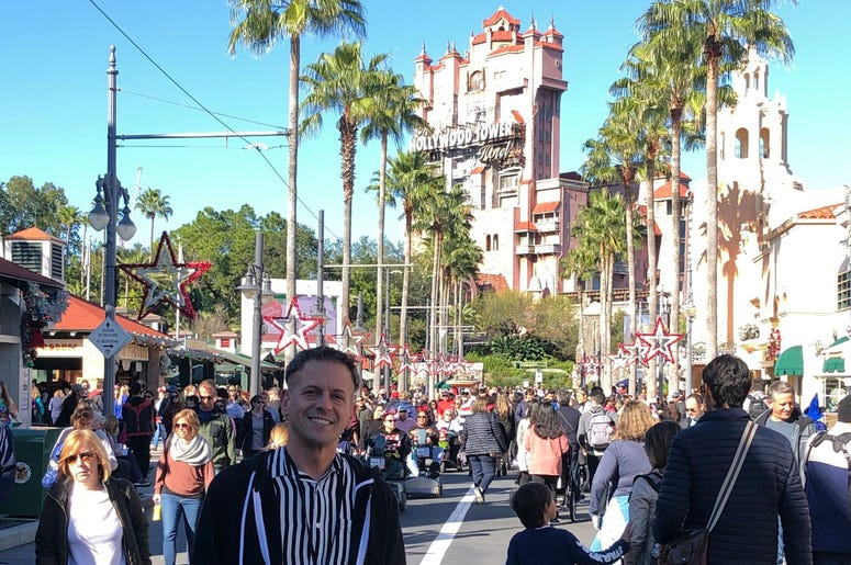 Jason and Corinna toured Disney World.