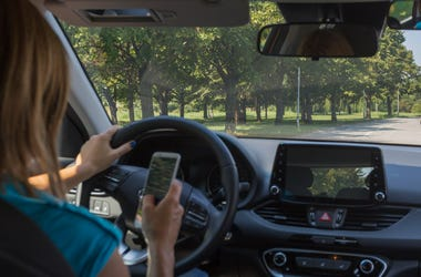 Montgomery County could introduce cameras to monitor distracted driving.
