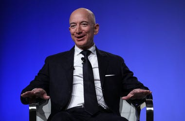 Jeff Bezos is joining the fight to save the earth.