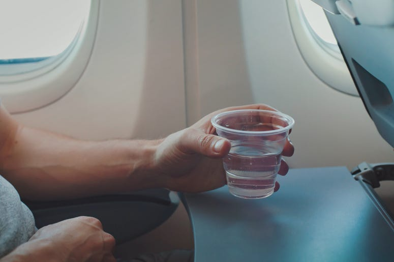 A study shows that water on airplanes may not be safe to use.