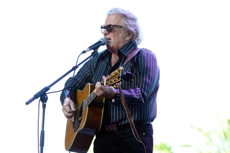 Don McLean Playing The Guitar