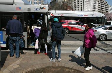Metrobus drivers in Northern Virginia are still on strike.