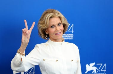 Jane Fonda was arrested on the steps of the Capitol Building.