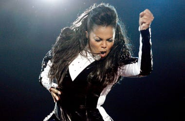"""Janet Jackson's song """"Miss You Much"""" spent four weeks at no. 1 on Billboard Hot 100 chart."""