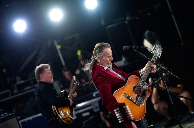 Gordon Lightfoot Playing The Guitar