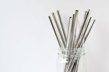Metal drinking straws may be good for the environment but are also potentially dangerous.
