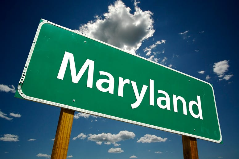 Maryland Highway Sign