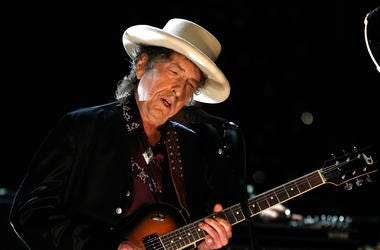 Bob Dylan is trending on Twitter for ranking at 7 on the list.