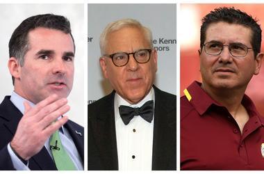 Kevin Plank, David Rubenstein, Dan Snyder