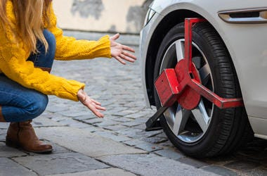 A new bill would allow drivers with too many moving violations to get towed.