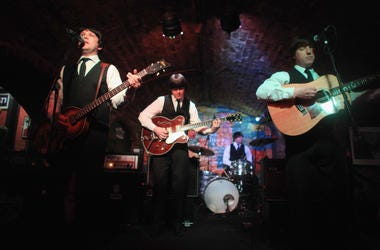 Beatles Tribute Band Playing Music