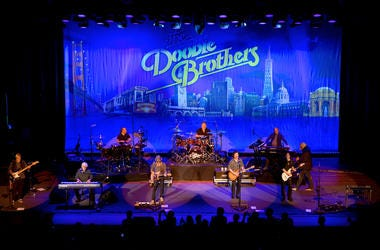 The Doobie Brothers On Stage Performing